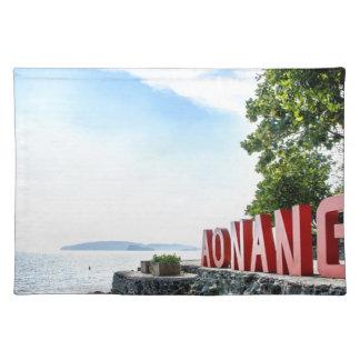 Ao Nang Sunset Beach Placemat