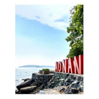 Ao Nang Sunset Beach Postcard
