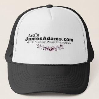 AOJA logo w/ skulls Trucker Hat