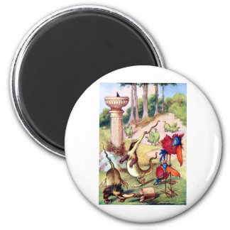 AOME OF THE WEIRD CHARMING ANIMALS OF WONDERLAND REFRIGERATOR MAGNET