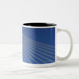 Aomori Bay Bridge, Aomori Prefecture, Japan Two-Tone Coffee Mug