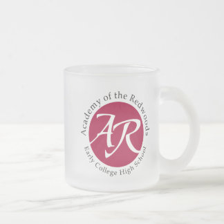 AOR logo glass Frosted Glass Coffee Mug