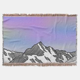 Aoraki Mount Cook NZ Throw Blanket