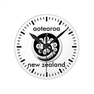 aotearoa new zealand 12 round clock