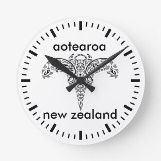 aotearoa new zealand 14 round clock