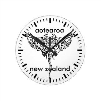 aotearoa new zealand 15 round clock