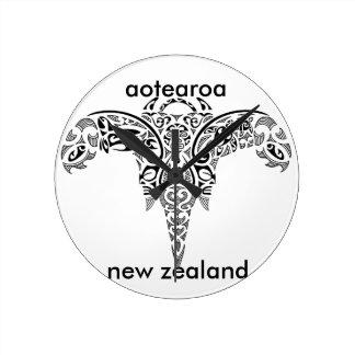 aotearoa new zealand 7 round clock