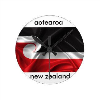 aotearoa new zealand design round clock