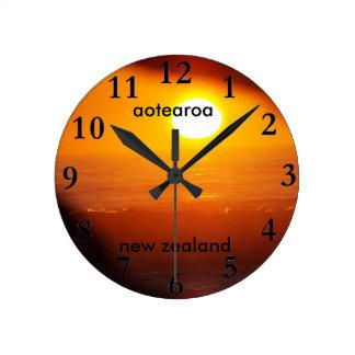 aotearoa new zealand east coast sun rise round clock