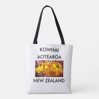 aotearoa new zealand kowhai 2 tote bag