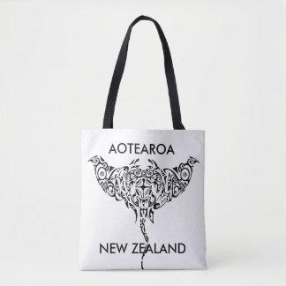 aotearoa new zealand ray 1 tote bag