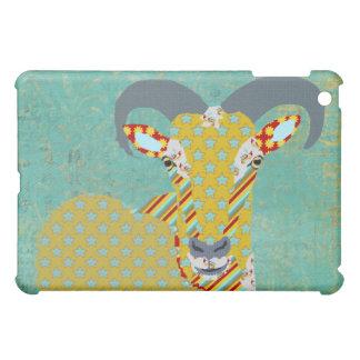 Aoudad Retro Teal Case iPad Mini Covers