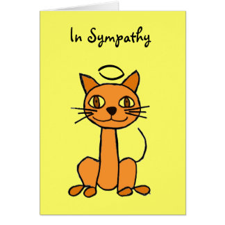 AP- Cat Sympathy Card