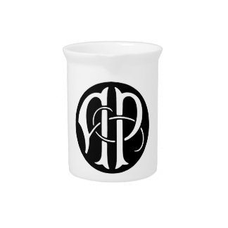 AP Monogram Beverage Pitchers