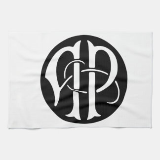 AP Monogram Tea Towel