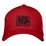APA Logo - Black Embroidered Hats