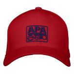 APA Logo - Blue Embroidered Hats