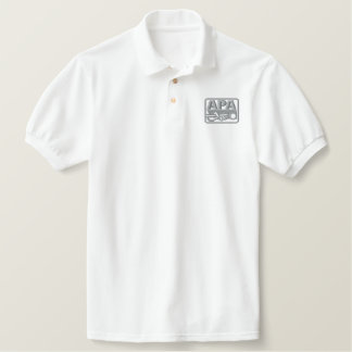 APA Logo - Grey Polo