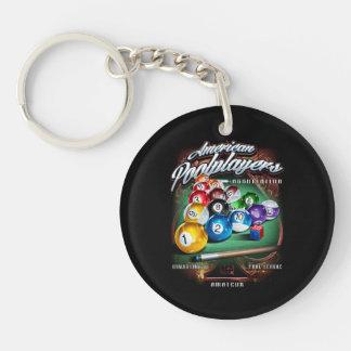 APA Pool Rack Keychains