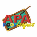 APA PoolLeagues Logo Embroidered Polo Shirt
