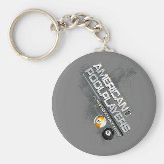 APA Slanted Design Key Chain