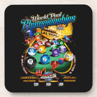 APA World Pool Championships 2017 Coaster
