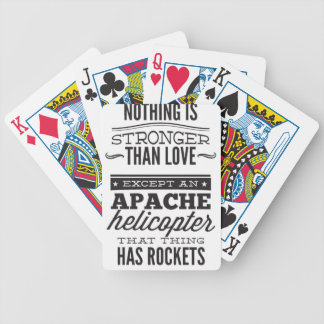 Apache Bicycle Playing Cards