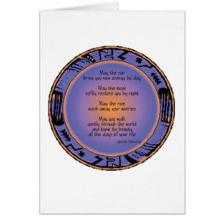 Apache Blessing notecard