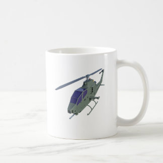 Apache helicopter in front view coffee mug