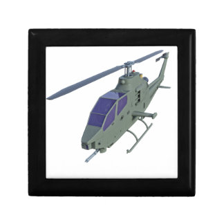 Apache helicopter in front view gift box