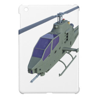 Apache helicopter in front view iPad mini covers