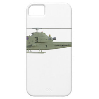 Apache helicopter in side view profile case for the iPhone 5