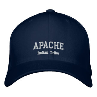 Apache Indian Tribe Embroidered Hat