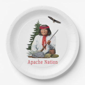 Apache Nation Paper Plate