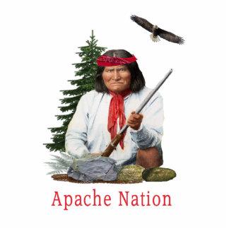 Apache Nation Photo Sculpture Key Ring