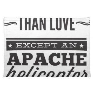 Apache Placemat