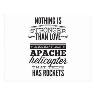 Apache Postcard