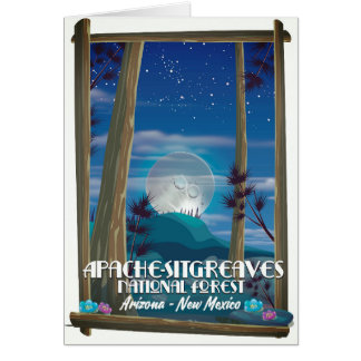 Apache-Sitgreaves National Forest Card