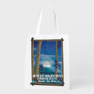 Apache-Sitgreaves National Forest Reusable Grocery Bag