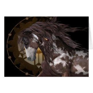 Apache .. the stallion card