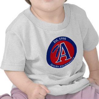 Apache Warrior Elementary School Products Tee Shirt