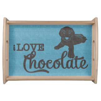 APAL - Chocolate Labrador | Dog Lovers Tray