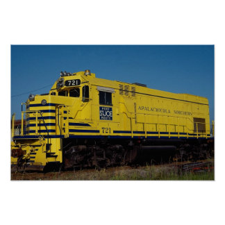Apalachicola Northern, EMD Poster
