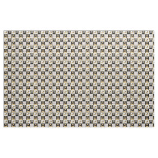 """APARN Rescue Pugs Combed Cotton (56"""" width) Fabric"""
