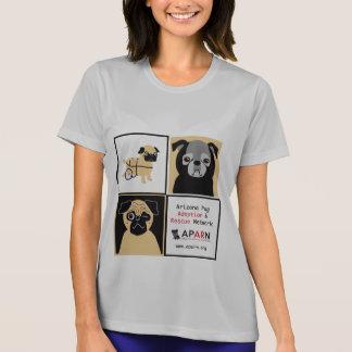 APARN Rescue Pugs Ladies Micro-Fiber T-Shirt