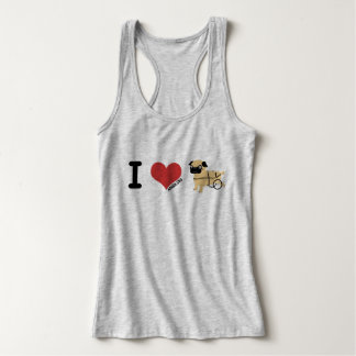 APARN, Special Needs Pug, Women's Slim Fit Tank