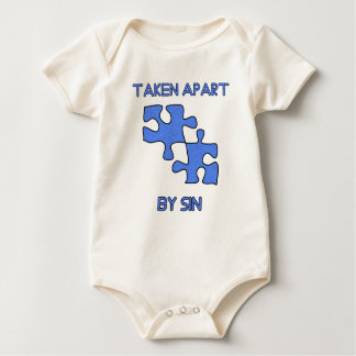 Apart By Sin Made Whole With God Baby Bodysuit