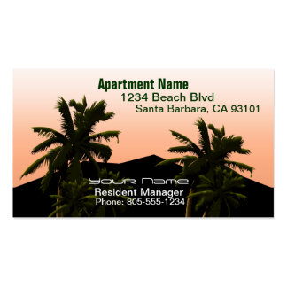Apartment Manager Pack Of Standard Business Cards