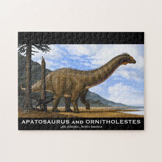 Apatosaurus and Ornitholestes Puzzle