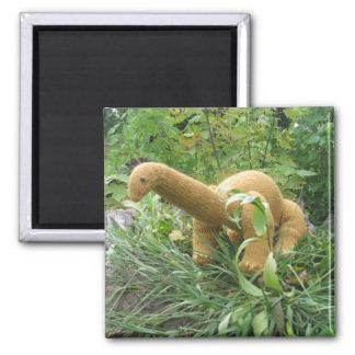 Apatosaurus fridge magnet